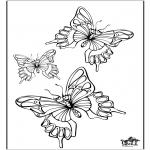 Dyre-malesider - Butterfly 5