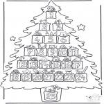 Jule-malesider - Calender advent