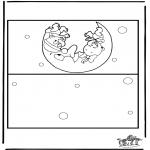 Håndarbejde - Card baby 2