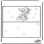 Håndarbejde - Card baby 3