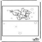 Håndarbejde - Card baby 4
