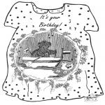 Håndarbejde - Card birthday 2