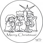 Håndarbejde - Card Christmas 1