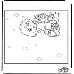 Håndarbejde - Card Dora 2