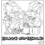 Håndarbejde - Card happy birthday 1