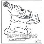 Håndarbejde - Card happy birthday 4