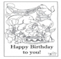 Card happy birthday 6