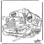 Sjove figurer - Cars 6