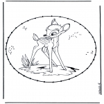 Sy-kort - Cartoon stitchingcard 2
