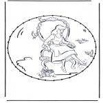 Sy-kort - Cartoon stitchingcard 3