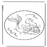 Sy-kort - Cartoon stitchingcard 5