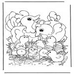 Tema-malesider - Chicken with eggs