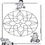 Mandala-malesider - Children mandala 10