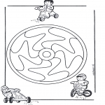 Mandala-malesider - Children mandala 12