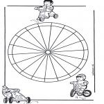Mandala-malesider - Children mandala 13