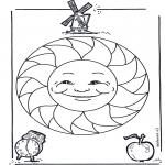 Mandala-malesider - Children mandala 15