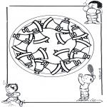 Mandala-malesider - Children mandala 17