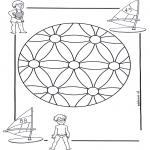 Mandala-malesider - Children mandala 2