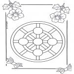 Mandala-malesider - Children mandala 3
