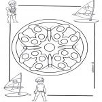 Mandala-malesider - Children mandala 4