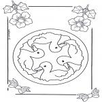 Mandala-malesider - Children mandala 6