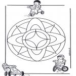 Mandala-malesider - Children mandala 7