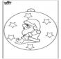 Christmas ball with Santa Claus 2