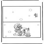 Jule-malesider - Christmas card 12