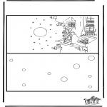 Jule-malesider - Christmas card 7