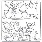 Jule-malesider - Christmas decoration 2