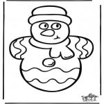Jule-malesider - Christmas windowcolor 1