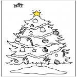 Jule-malesider - Christmastree 3