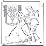 Sjove figurer - Cinderella 1