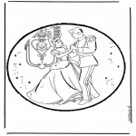 Prik-kort - Cinderella 10