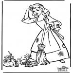 Sjove figurer - Cinderella 12