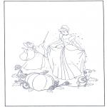 Sjove figurer - Cinderella 16