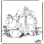 Sjove figurer - Cinderella 6