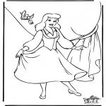 Sjove figurer - Cinderella 8