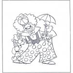 Diverse - circus clown