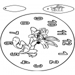 Håndarbejde - Clock Bugs Bunny