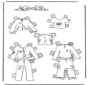 Cloth paper doll 1
