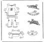 Cloth paper doll 7