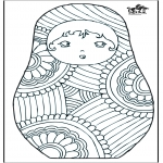 Diverse - Coloring for adults 4
