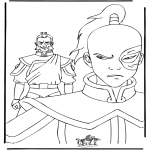 Sjove figurer - Coloring page Avatar
