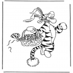 Tema-malesider - Coloring page easternbunny