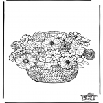 Diverse - Coloring pages flowers