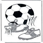 Diverse - Coloring pages Football