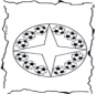 Coloring pages mandala football