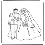 Tema-malesider - Coloring pages marriage