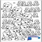 Håndarbejde - Count the babies